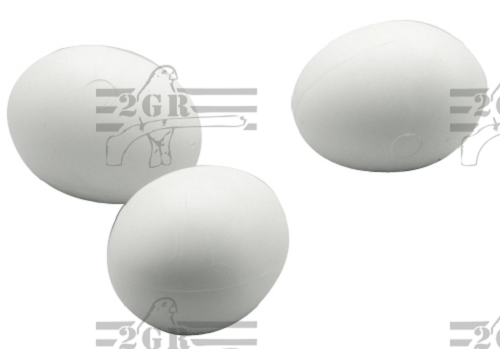 Large Plastic Parrot Fake Eggs