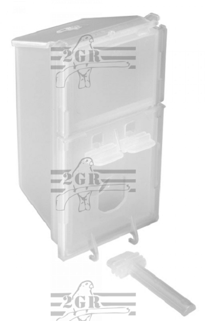 Plastic Feeder - Vacation Feeder - Bird Cage Accessory