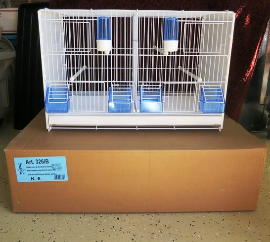 2Gr Breeding Cage 23 x 12 x 14.75 tall - Canary Breeding Supplies