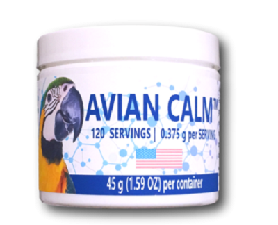 Avian Calm-Bird Calming supplement-great for nervous feather pickers - Bird Calming Supplement