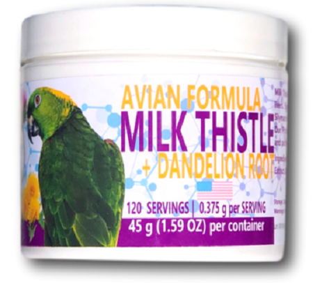 Milk Thistle & Dandelion - Bird Herbal RX - Liver Detox