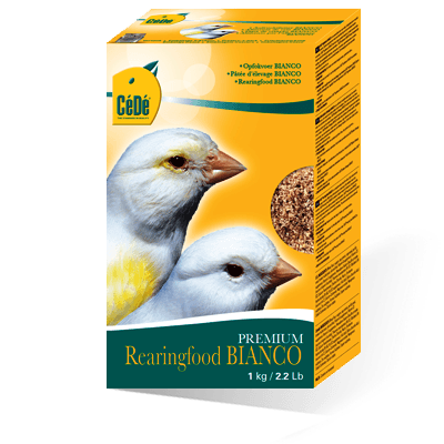 Cede Premium Rearing food for white canaries