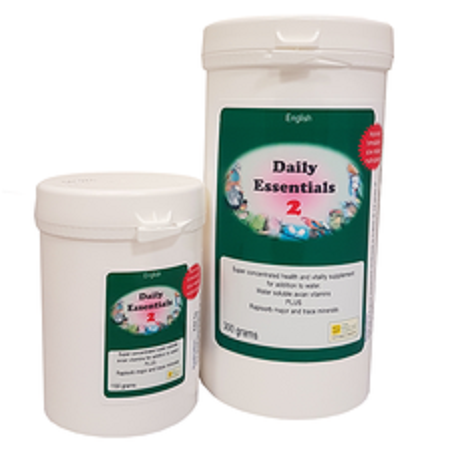 Daily Essentials 2 vitamins supplement by Bird Care Company - Pet Bird Supplies