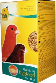 Cede Premium Red Eggfood for canaries - Canary Breeding Supplies