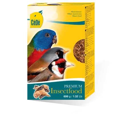 Cede Insectfood - Eggfood for Insectivores - Finch Breeding Supplies