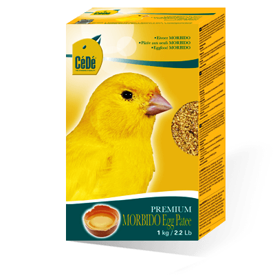 Cede Morbido Egg Paste - Canary Breeding Supplies - 9.8% raw fat