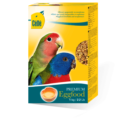 Cede Agapornids and Neophemas Premium Eggfood for grasskeets - Parakeet Breeding Supplies - Nestling food