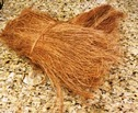 Coco Fiber Pony tail for cage bird nesting