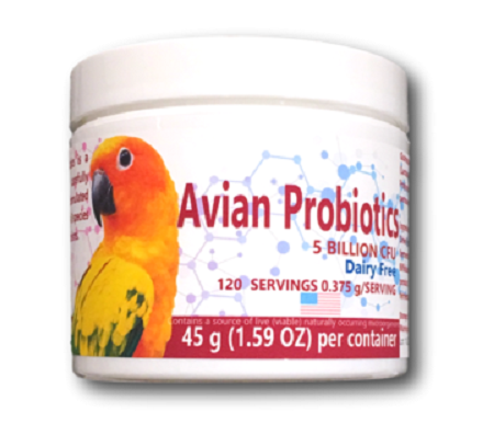 Equa Holistics Avian Probiotics for cage birds