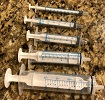 exacta oring oral syringes for handfeeding, medicating cage birds