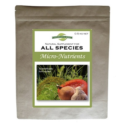Naturally for Birds Micro Nutrients Supplements - Lady Gouldian Finches Breeding supplies