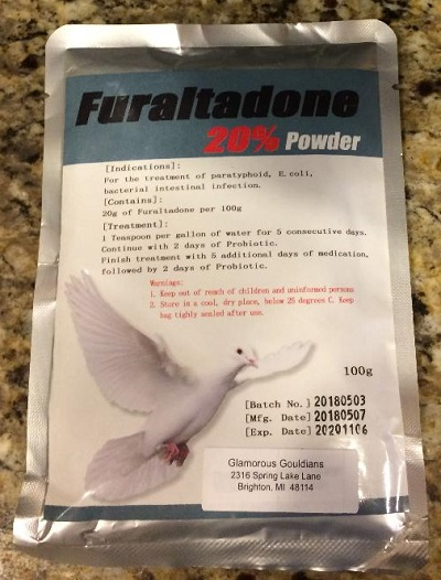 Furaltadone Bird Medication