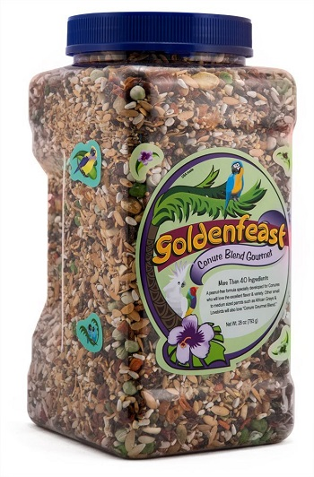 Basics Plus Conditioning Cockatiel Food by Goldenfeast 28 & 64oz