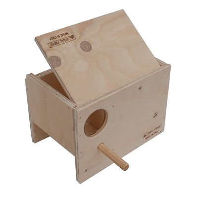 Wood Nest box for gouldian finches � Professional Line