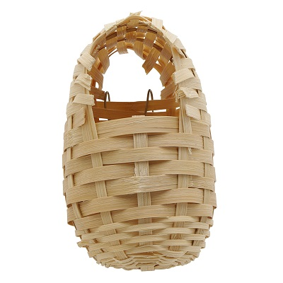 Small Bamboo Finch Nest - by Prevue - Finch Breeding Supplies - Pet Bird Nest