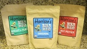 Harrison's Bird Bread Mixes Certified Organic, original, hot pepper and Flax