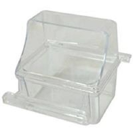 Plastic Seed/Water Cup - fit 36x18x18 cages - Bird Cage Accessory