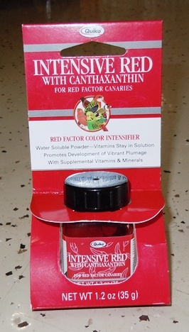Intensive Red with Canthaxanthin-1.2 Oz(35g)-red color enhancer