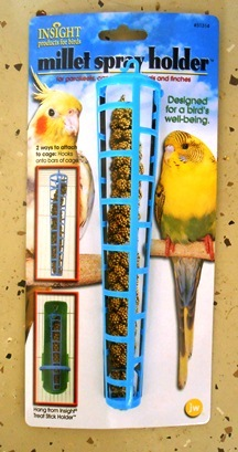 Bird Millet Spray Holder Bird Cage Accessories