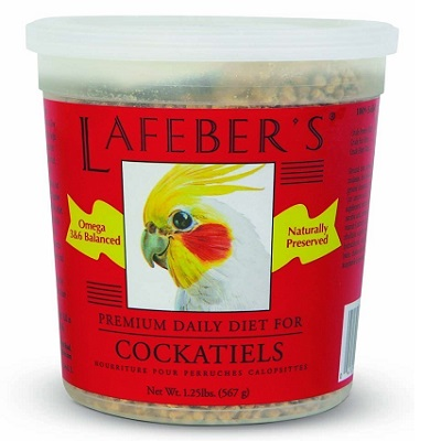 Lafeber's Premium Daily Diet for Cockatiels-Cockatiel Supplies