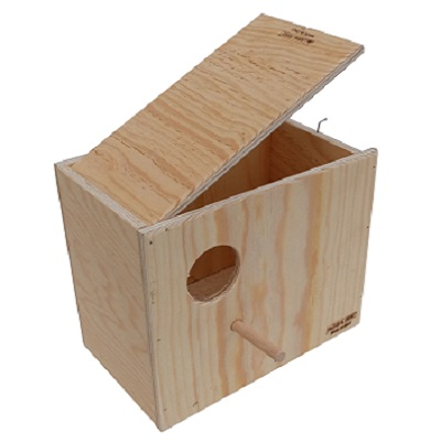Vision Breeding Box for Parakeet, Lovebirds and Parrotlets Parakeet Breeding Supplies