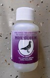 Moxidectin Worming Medication for caged birds.