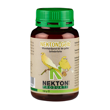 Nekton Gelb - Yellow feather supplement - Canary supplies