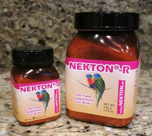 Nekton R - Red Color Supplement for Red Factor Canaries Canary supplies