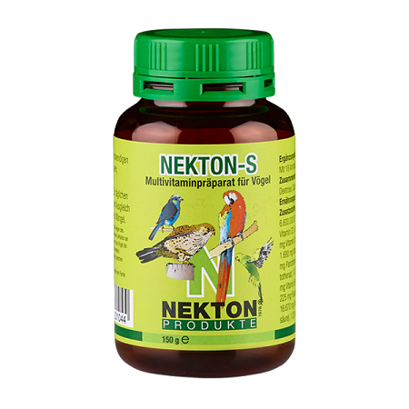 Nekton S 350 g, 150 g, 75 g, 35 g Bird Vitamins for canaries, Bird Supplies