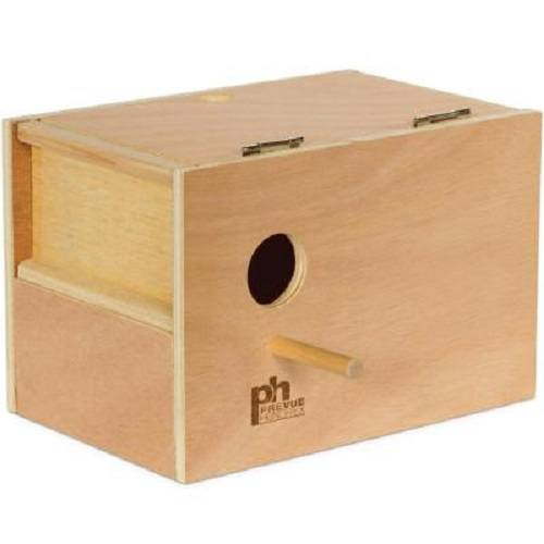Prevue Pets Medium Wooden Parakeet Nestbox, Parakeet Breeding Supplies
