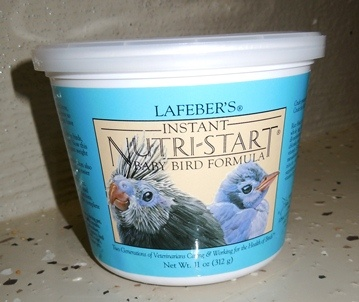 Nutri-start Baby Bird Formula for handfeeding and sick birds - Finch Breeding Supplies