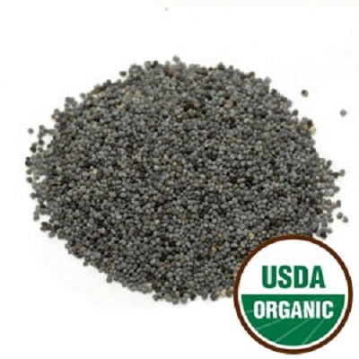 Certified Organic Blue Poppy Seed for birds