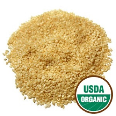 Certified Organic Hulled Sesame Seed for birds