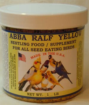 Abba Yellow Ralf - Canary Supplies