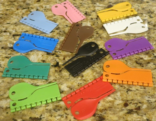 Plastic split leg bands for Finches - Finch Breeding Supplies