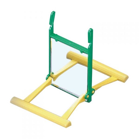 sta-a001-seesaw perch with double sided mirror - Finch Cage Accessories