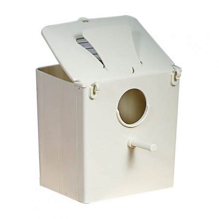 Michael Angelo Plastic Gouldian Finch Nest box, lady gouldian finch breeding supplies