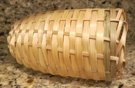Bamboo Finch Tube Nest - 6in long 3.5 diameter, Finch Breeding Supplies