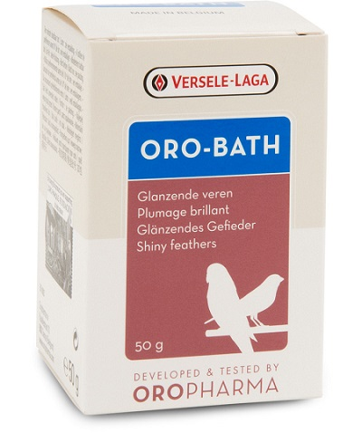 Oro-Bath is a special bath salt - Feather care - Pet Bird Supplies