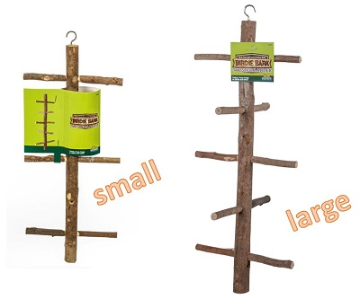 Natural wood Tree Perches - Pet Bird Cage Accessories