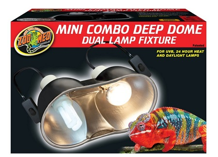 Zoo Med Combo Deep Dome Lamp for Bird cage