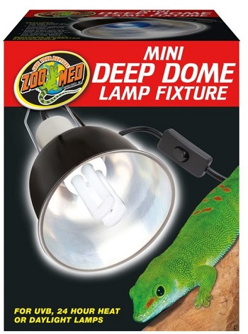 Zoo Med Deep Dome Lamp for Bird cage