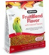 Zupreem Fruitblend Parakeet, Budgie and Parrotlet pellets.